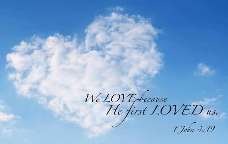 1 John 4.19