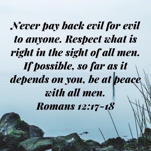 Romans 12.17 18